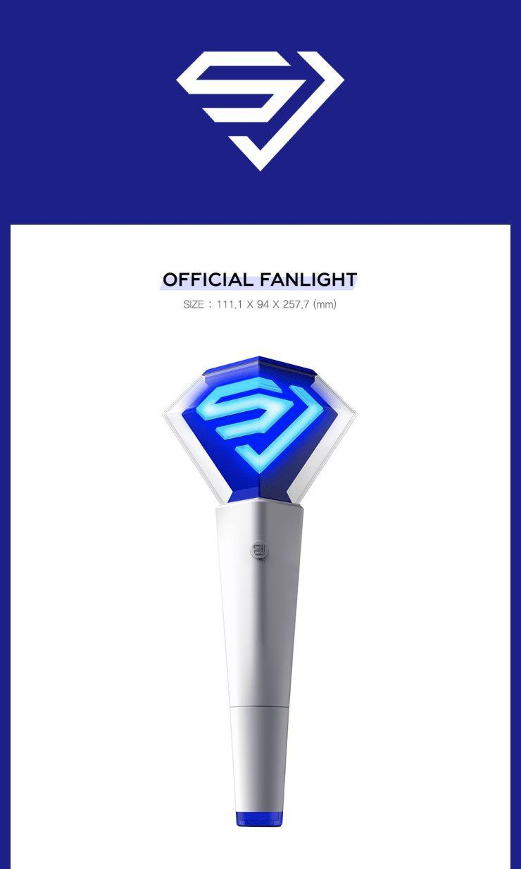 [GROUP ORDER][PREORDER] SUPER JUNIOR LIGHTSTICK VER 2.0