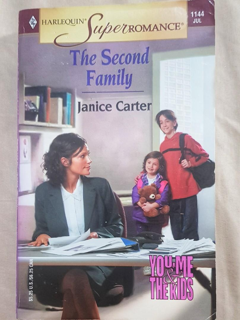 Harlequin Super Romance Pocketbook 'The Second Family' by Janice Carter