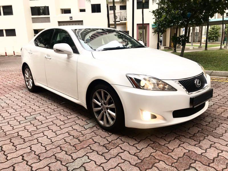 Lexus IS250 New 10year Coe  Auto