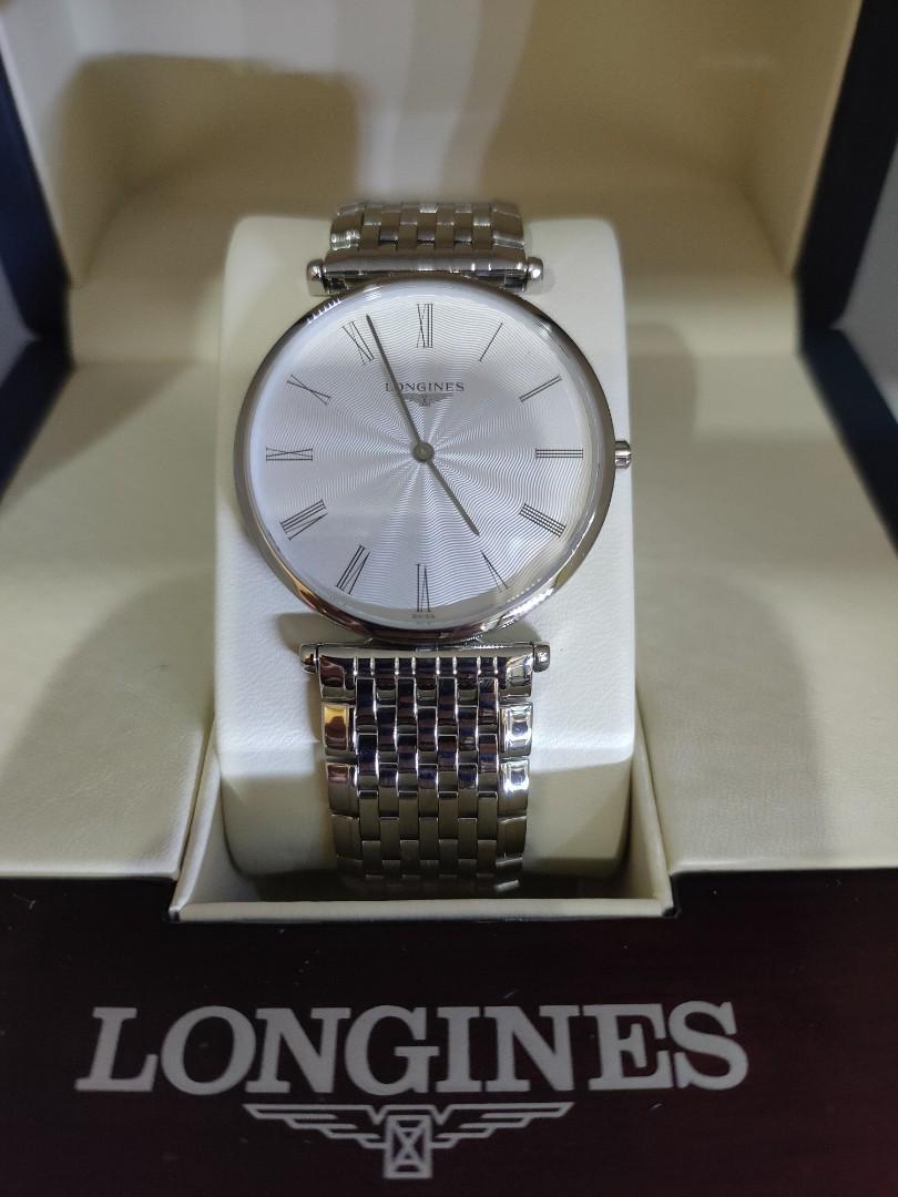 Longines L.47554716 La Grande Classique Ultra-Thin Men Swiss Quartz FULL SET