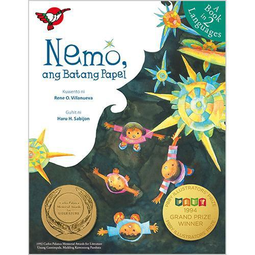 Nemo, Ang Batang Papel | Filipino English Bilingual | Adarna House | Children's Book