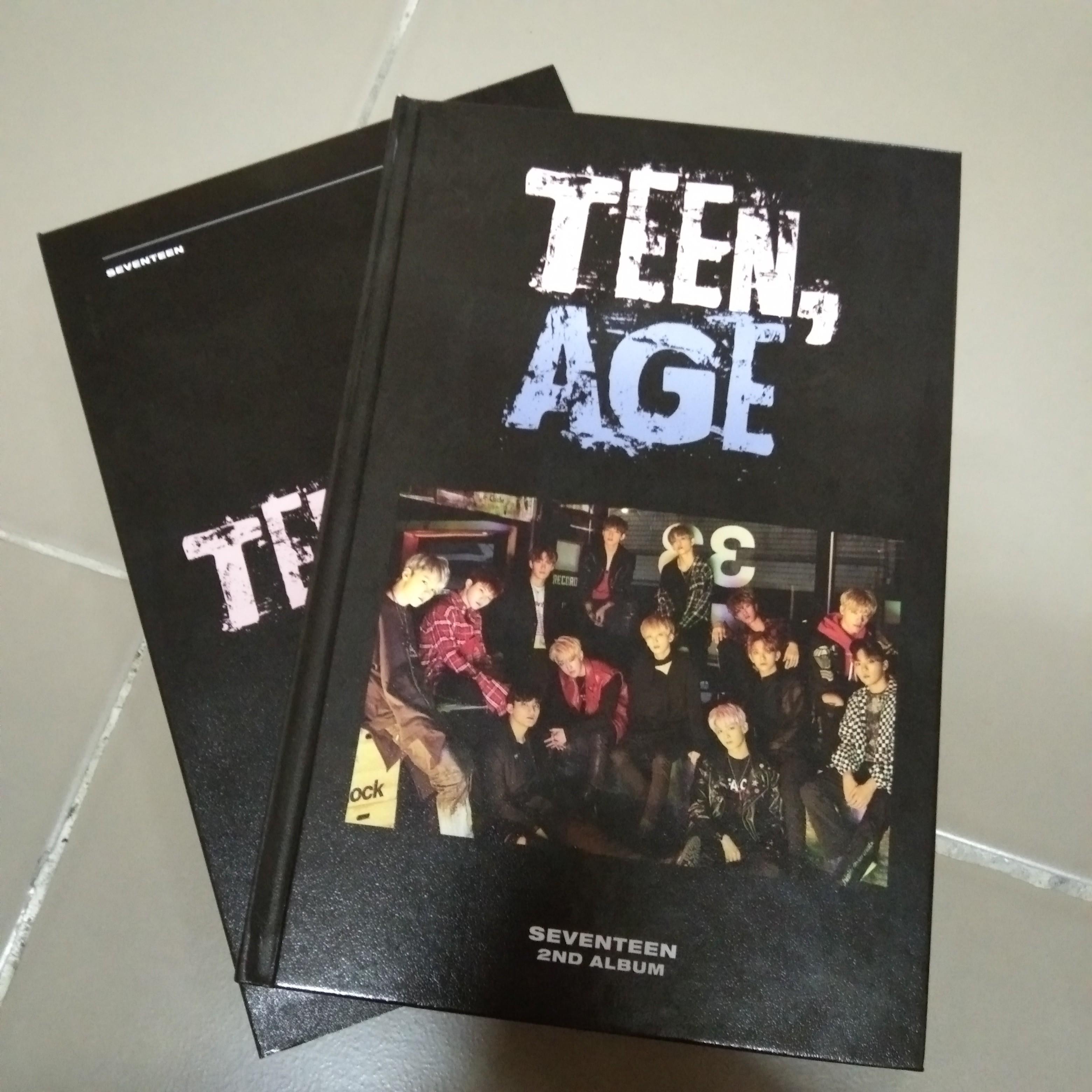 Seventeen Teen Age (Rose Quartz ver.) Album Photobook