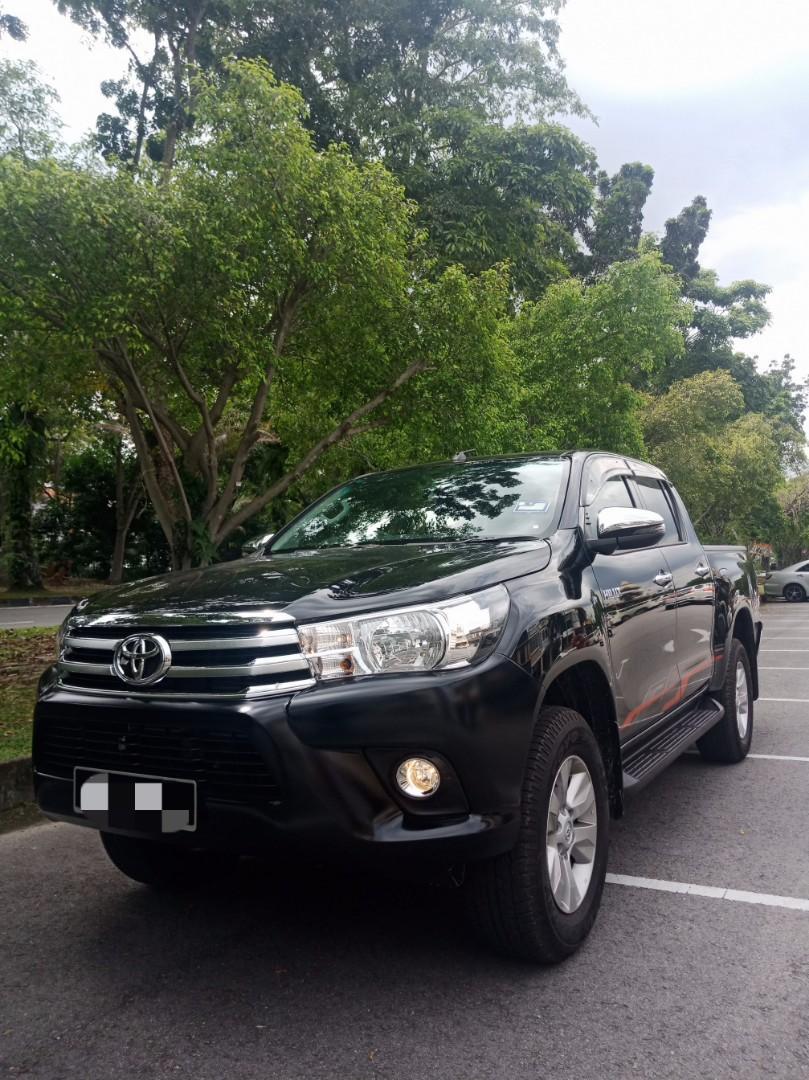 Tiptop New Hilux Revo 2.4(A) 4x4 Sewa Murah Selangor KL