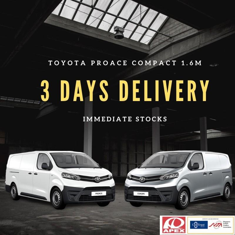 Toyota ProAce Compact 1.6M Diesel