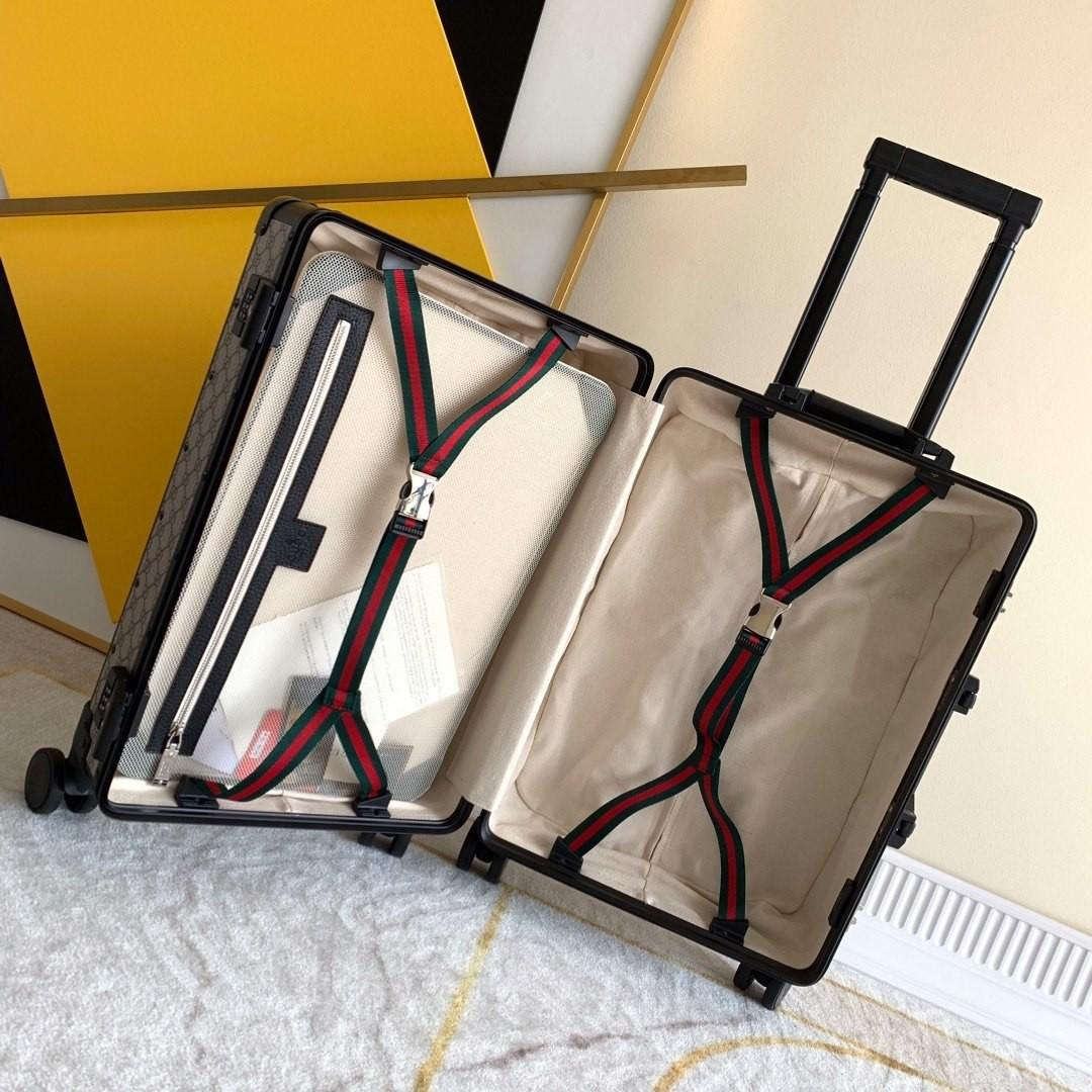 VALENTINE DAYS OFFER 20% OFF  (PRICE NOT YET DISCOUNTED)   PRE ORDER 10-14 DAYS  GUCCI LUGGAGE/TROLLEY CASE(POSTAGE ONLY)