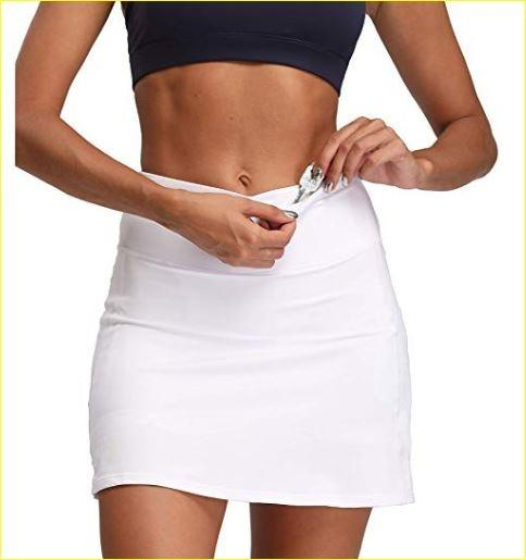 Women's Active Athletic Sports Golf Tennis Running Skort Skirt (Size M)