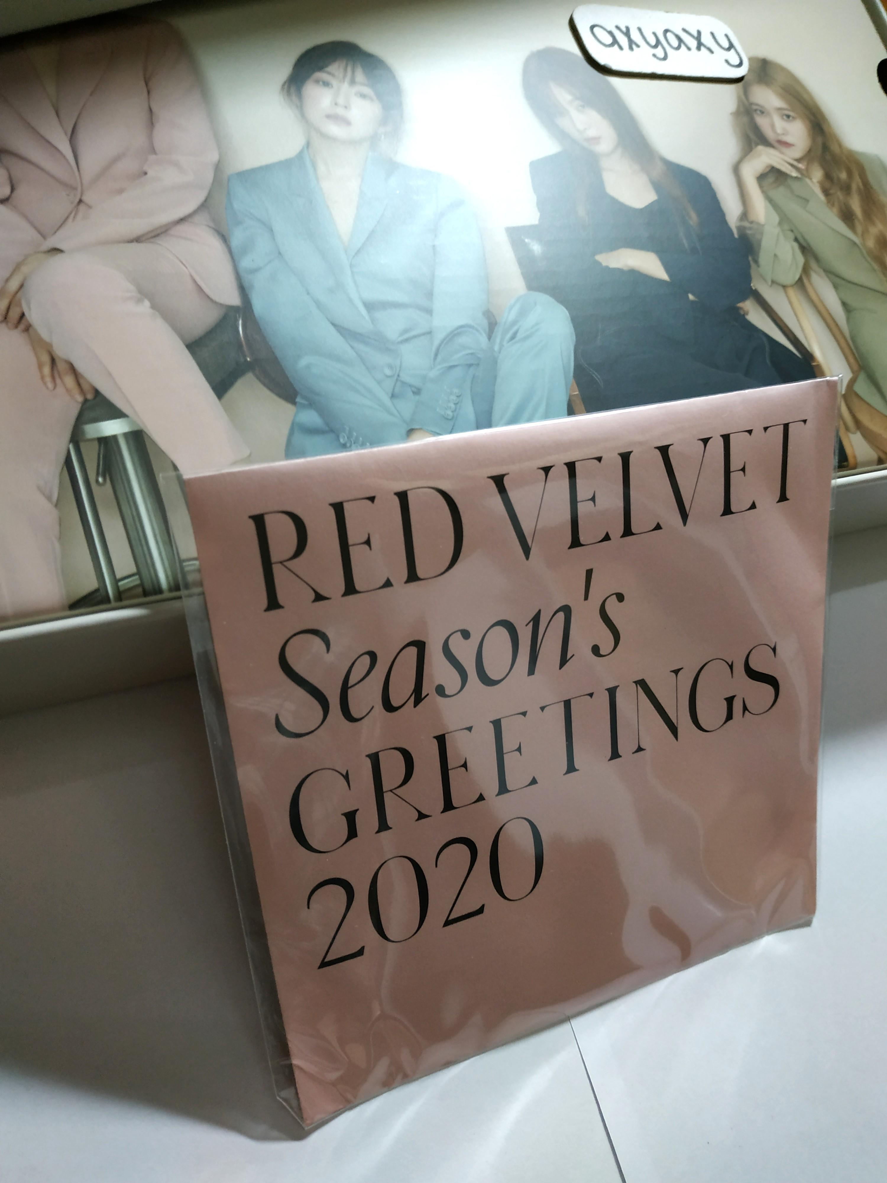[WTS] RED VELVET 2020 SEASON'S GREETINGS: Outbox Package and DVD