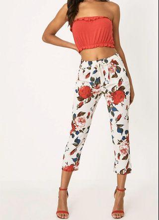 Pretty Little Thing Floral Trousers