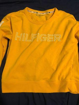 Yellow Tommy Hilfiger Pullover