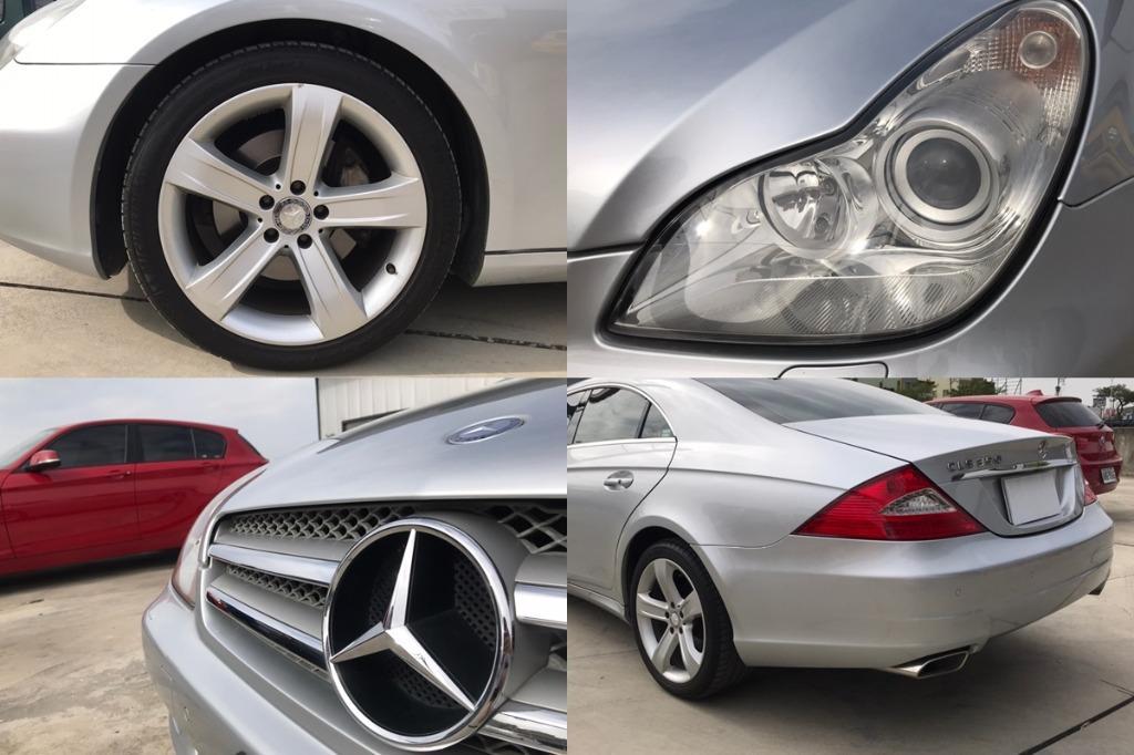 08年 Benz 賓士 CLS350 銀 3.5 總代理 小改款 IKEY 天窗 換檔撥片 電動椅 跑8萬 增貸30萬