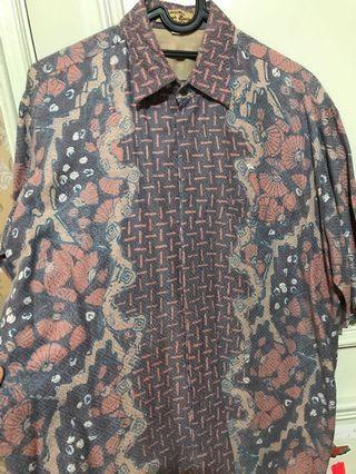 Kemeja batik furing