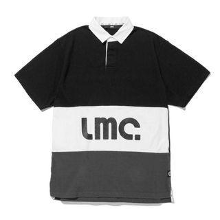 韓國品牌 LMC SHORT SLV RUGBY SHIRT 黑色