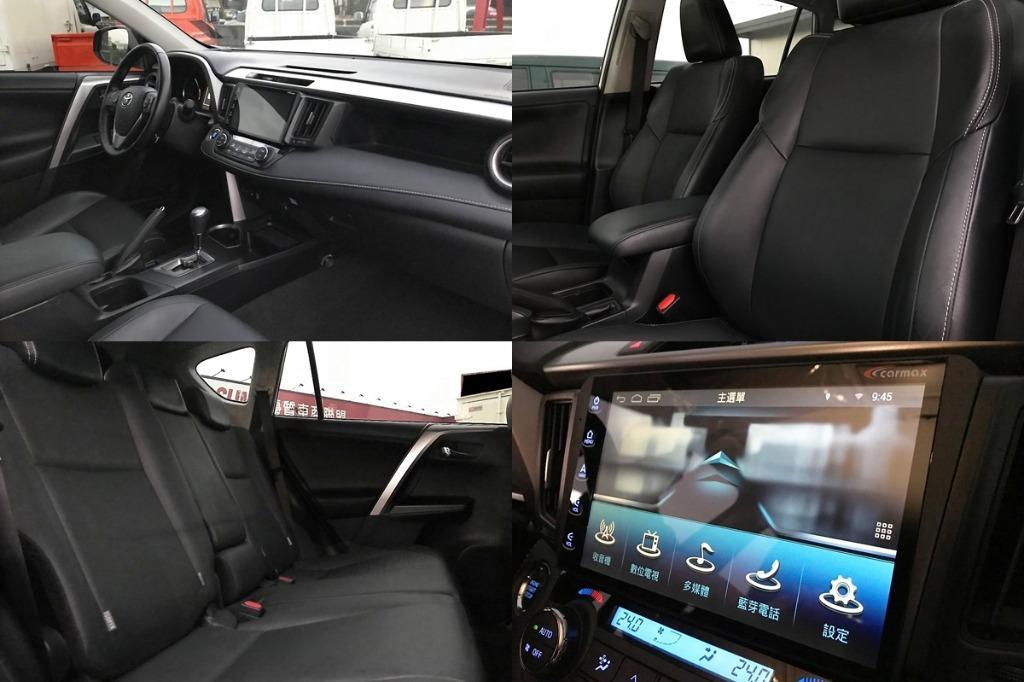 15年 16年式 Toyota 豐田 RAV4 銀 2.0 小改款 IKEY 電動椅 影音版 超貸20萬 貸款免保人