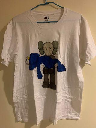 Uniqlo Kwas 聯名T (size XL)
