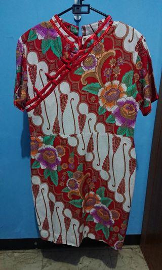 Motif chinese dress