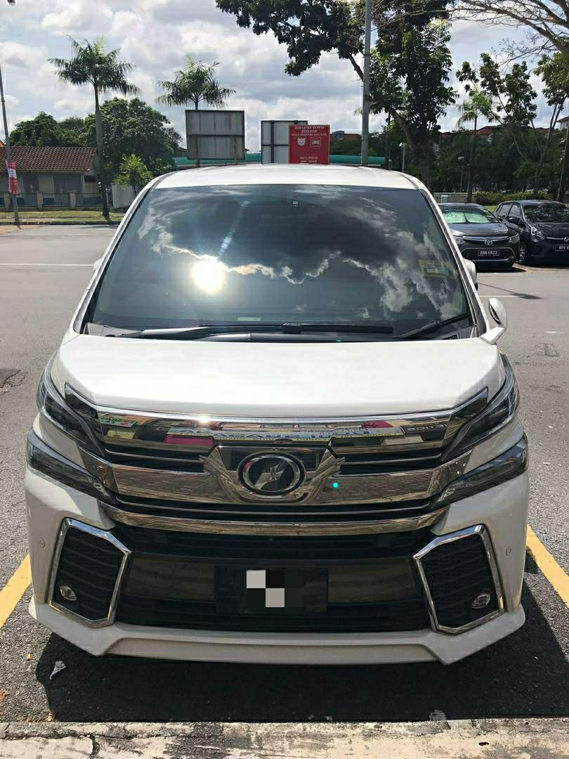 2018 REGISTERED TOYOTA VELLFIRE 2.5 AUTOMATIC 7 SEATERS