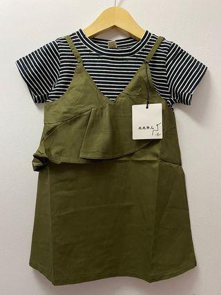 SALE dress korea anak lucu import