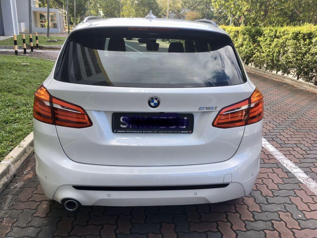 BMW 216i Active Tourer Sports 1.5L Turbo Auto