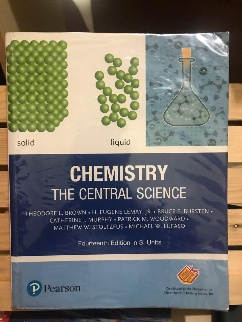 Chemistry The Central Science (pearson) (14th edition in SI units )