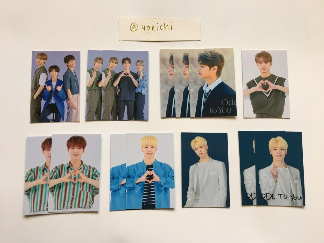 🧧CLEARANCE Seventeen Ode To You Tour Trading Cards