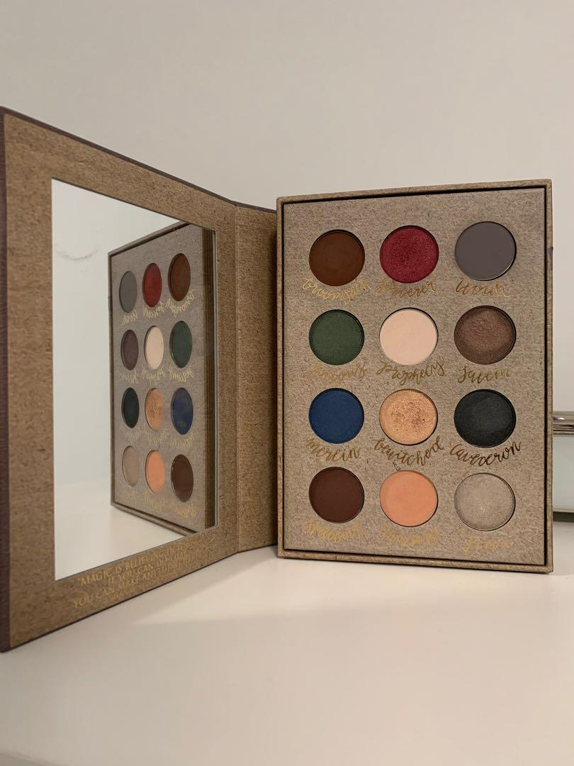 Genuine StoryBook Cosmetics Witchcraft and Wizardry Palette