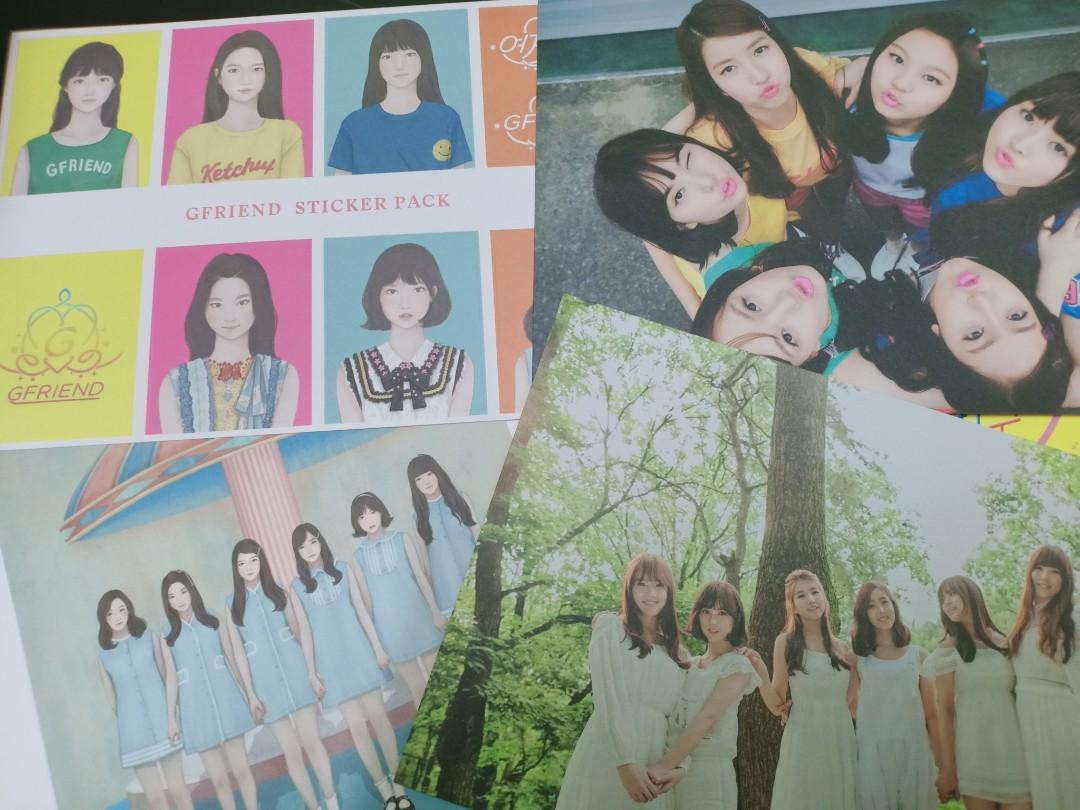 [WTS] GFRIEND 1st Album LOL (Laughing Out Loud Ver.)