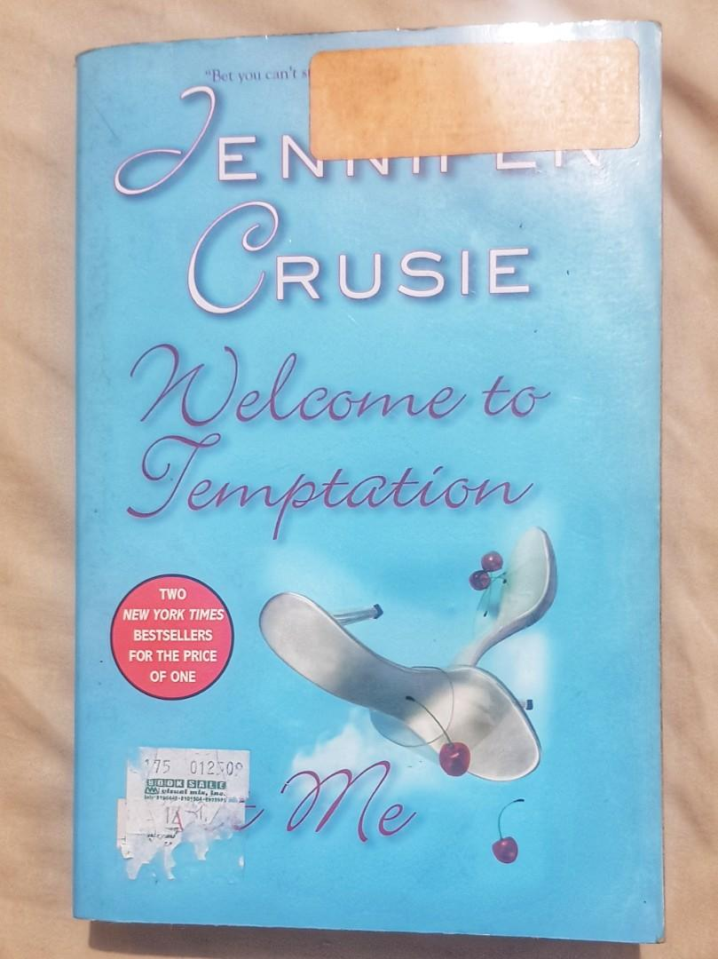 Jennifer Cruise Contemporary Romance Novel 2-in-1 - Welcome to Temptation & Bet Me