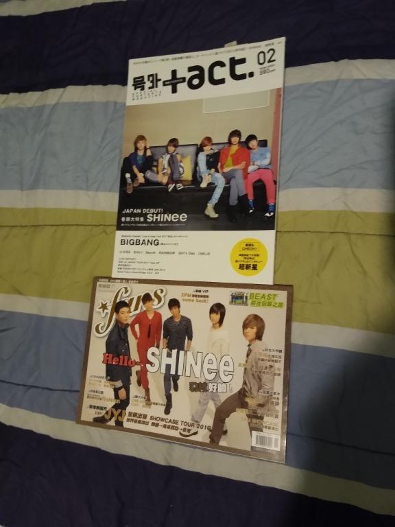 Kpop Magazines (SHINee, TVXQ/DBSK/Tohoshinki, JYJ, Big Bang)