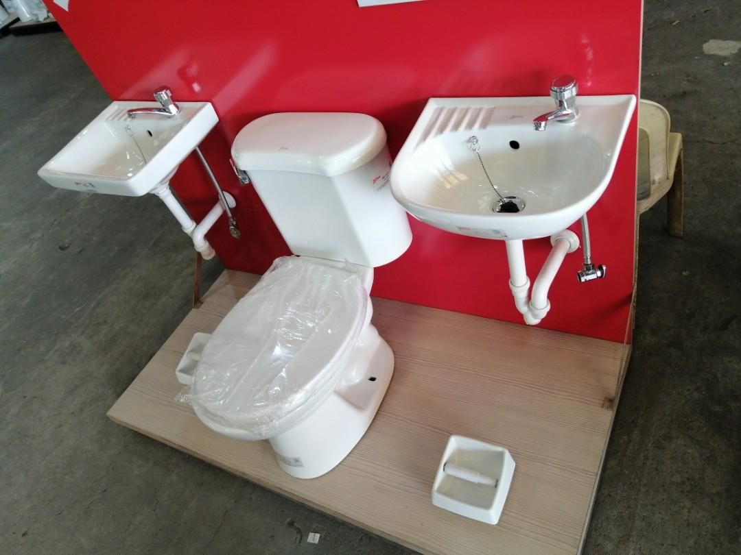 Low Cost Water Closet Package By Hcg Construction Industrial Construction Building Materials On Carousell