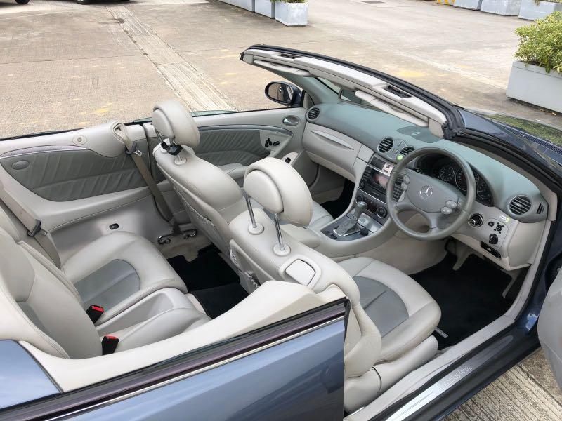 Mercedes-Benz CLK320 Cabriolet Auto