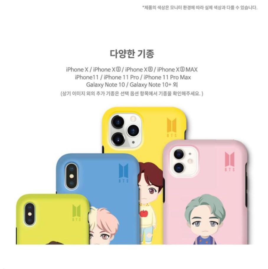 OFFICIAL BTS CHARACTER ( BASIC STANDING DUAL GUARD CASE )