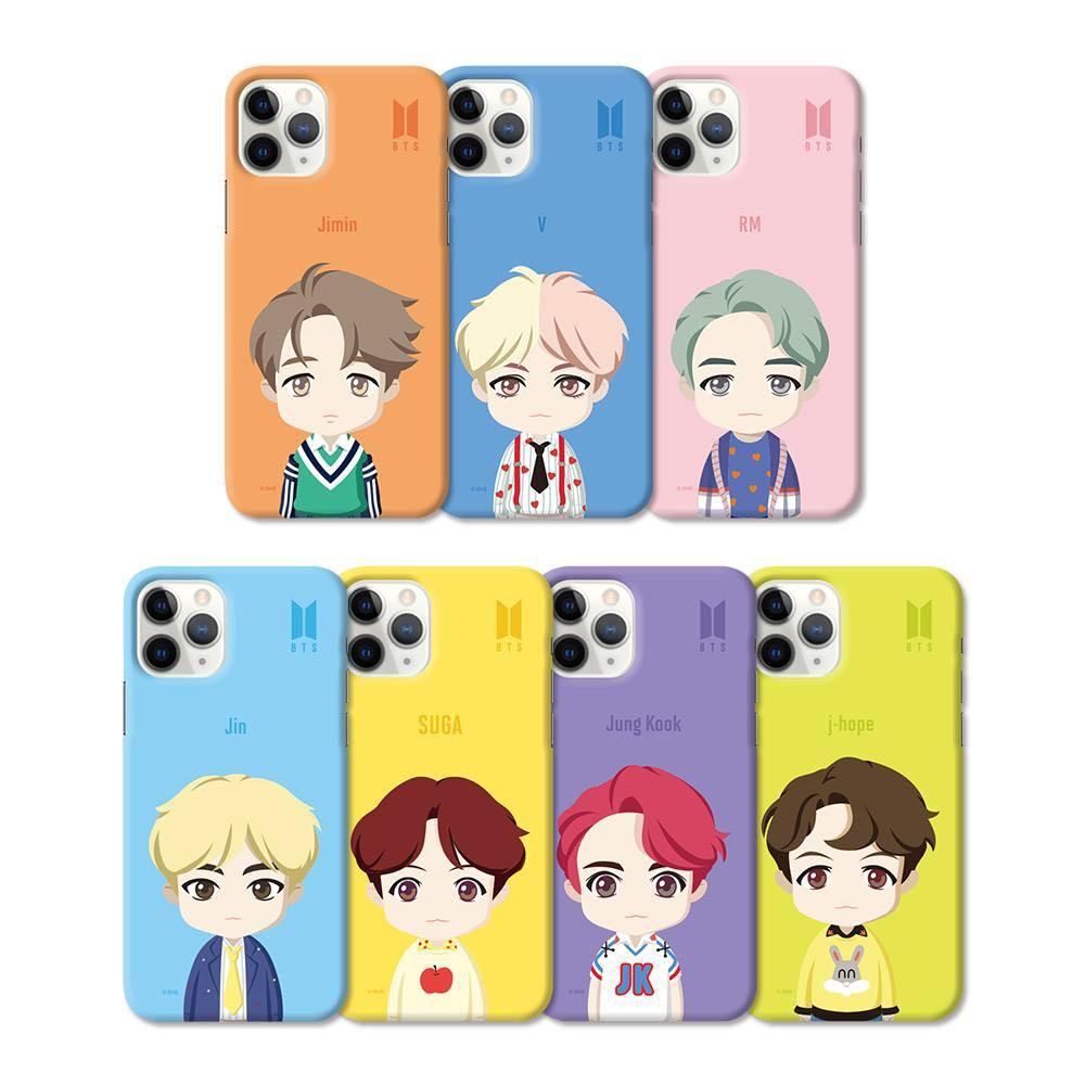 OFFICIAL BTS CHARACTER ( BASIC STANDING SLIM FIT CASE )