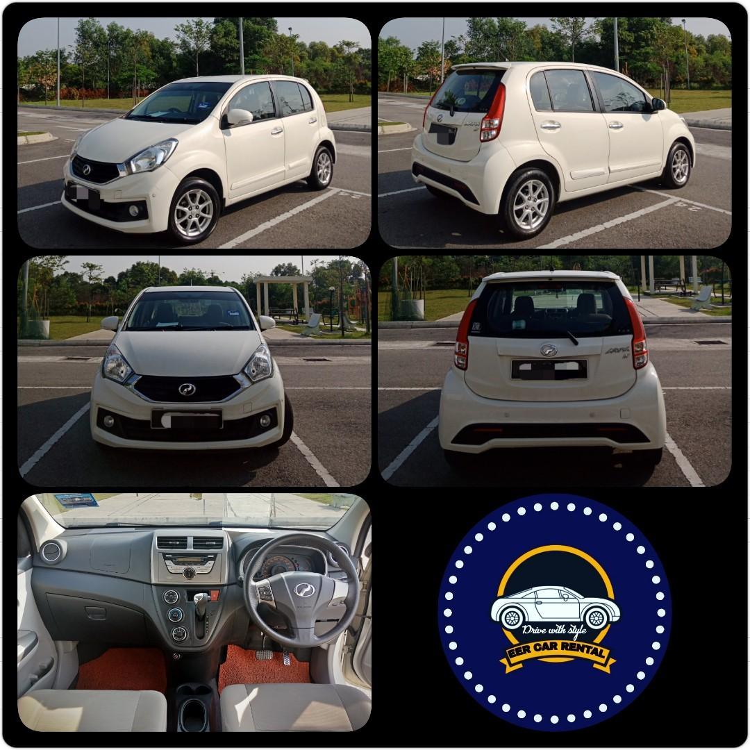 Perodua Myvi Icon 1.3 (A) Kereta Sewa Murah Selangor KL