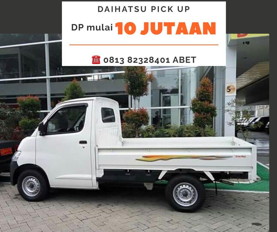 PROMO AWAL TAHUN Daihatsu Pick Up DP RINGAN mulai 10 jutaan