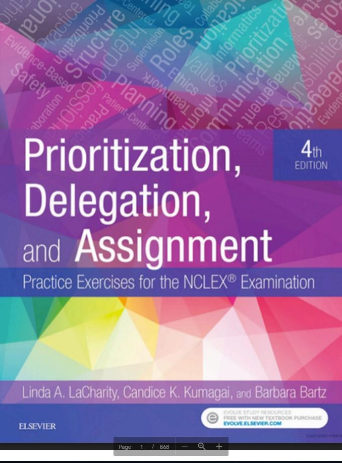 Saunders Comprehensive Review for the NCLEX-RN® Exam 8th Edition