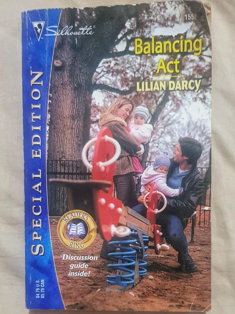 Silhouette Special Edition Romance Pocketbook - Balancing Act by Lilian Darcy