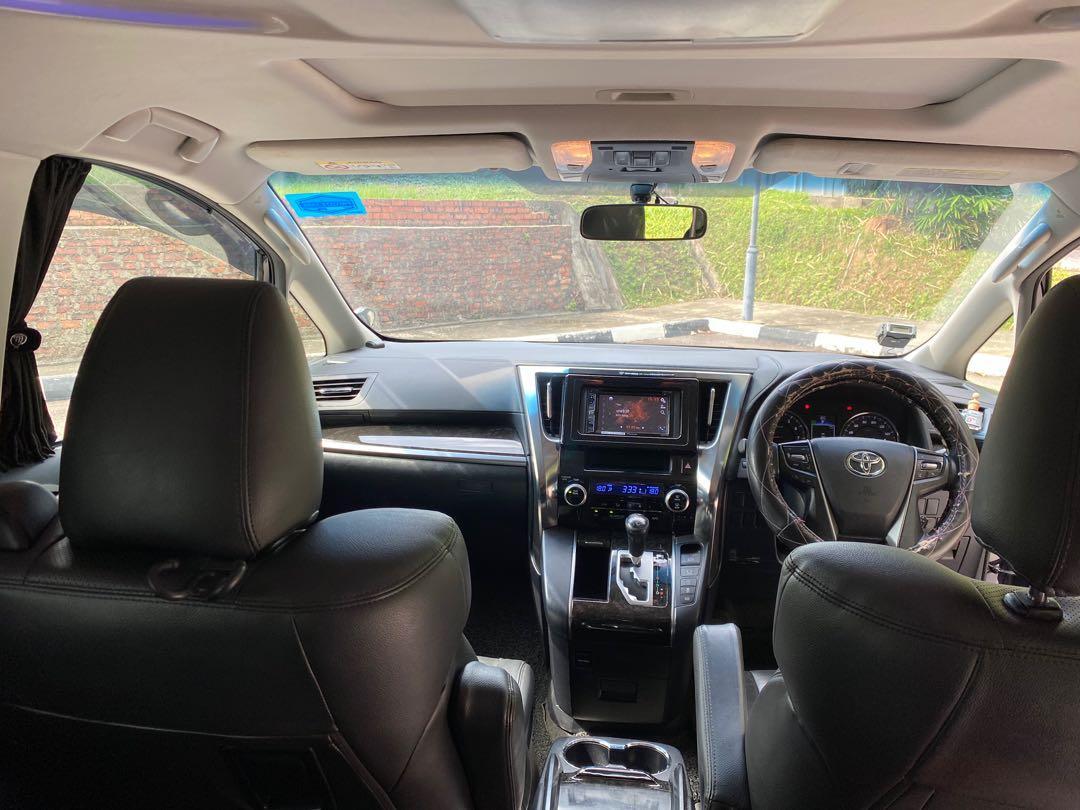 Toyota vellfire 2.4a g-edition