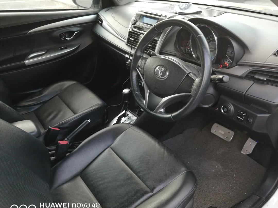 Toyota Vios Auto 1.5 G (Full Spec) 2015 Sambung Bayar