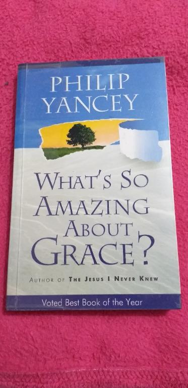 What's So Amazing About Grace? By Yancey (with FREE Audio CD- Music)