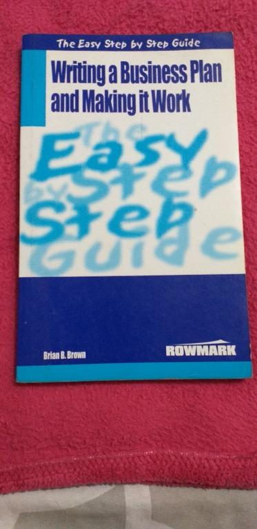 Writing A Business Plan and Making It work by Brown (with FREE audio CD - Music)