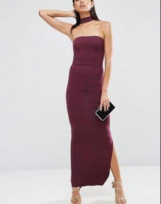 ASOS Choker Maxi Dress