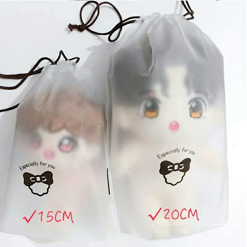 15cm/20cm pvc waterproof doll and clothes bag preorder
