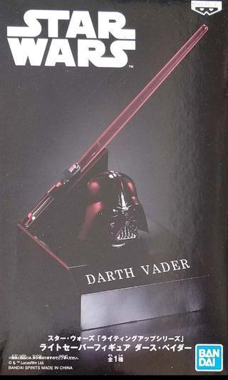 全新 日版 star war Darth Vader  景品 (可發光)