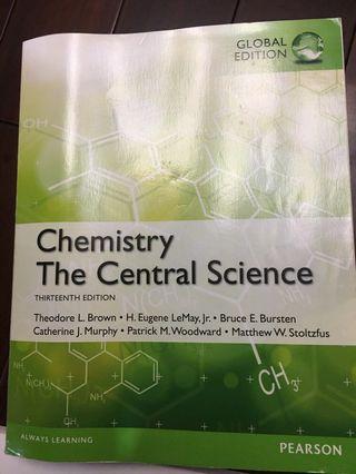 普化原文Chemistry the central science