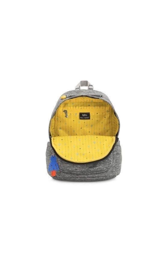 2020 Kipling春夏新款PAC-MAN限量系列 上方拉鍊後背包-DELIA
