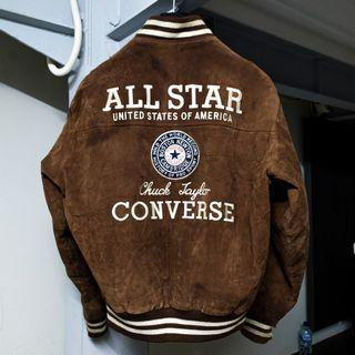 Converse Jacket Vintage Suede leather RARE AS F*CK 🔥🔥🔥
