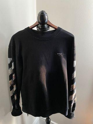 OFF-WHITE coloured arrows sweater