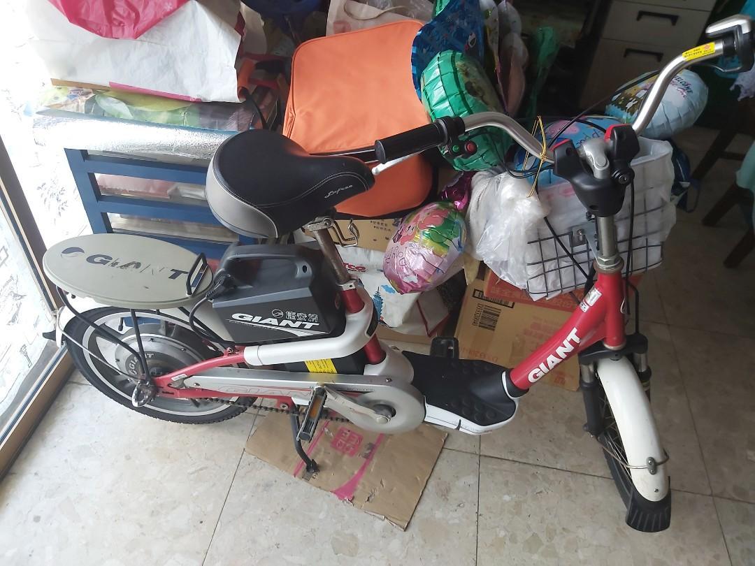 捷安特二手電動腳踏車