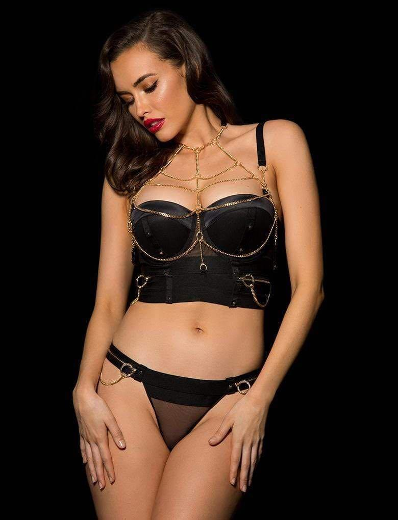 🖤 Honey Birdette Zeppelin Thong only Size Small BNWT 🖤