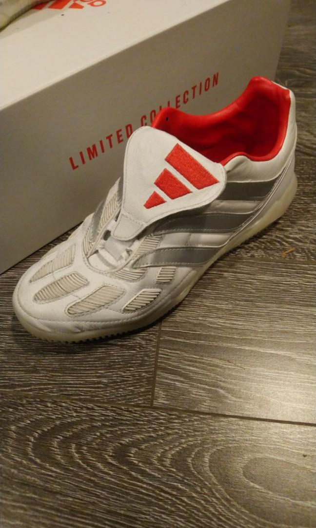 Adidas Predator Precision BY David Beckham (Indoor Soccer Cletes)